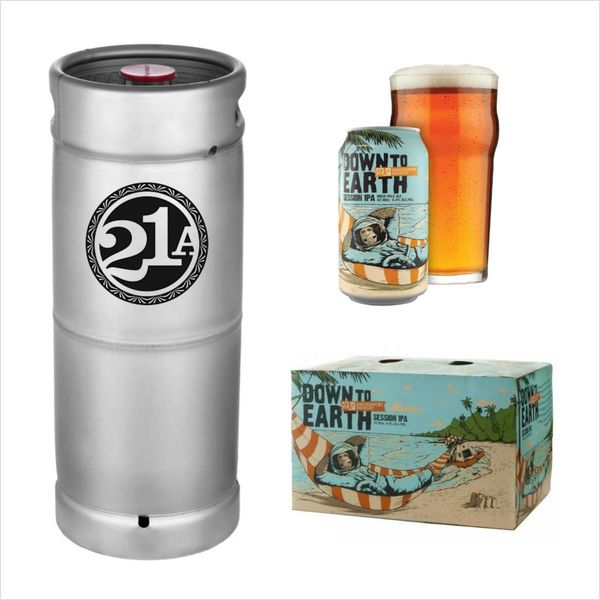 21st Amendment Brewery 21st Amendment Brewing  Down To Earth Session IPA (5.5.GAL KEG)