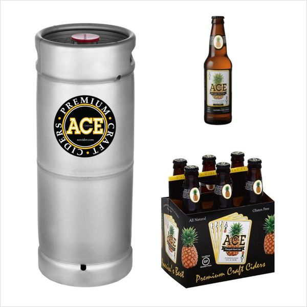 Ace Pineapple Hard Cider (5.5gal Keg)