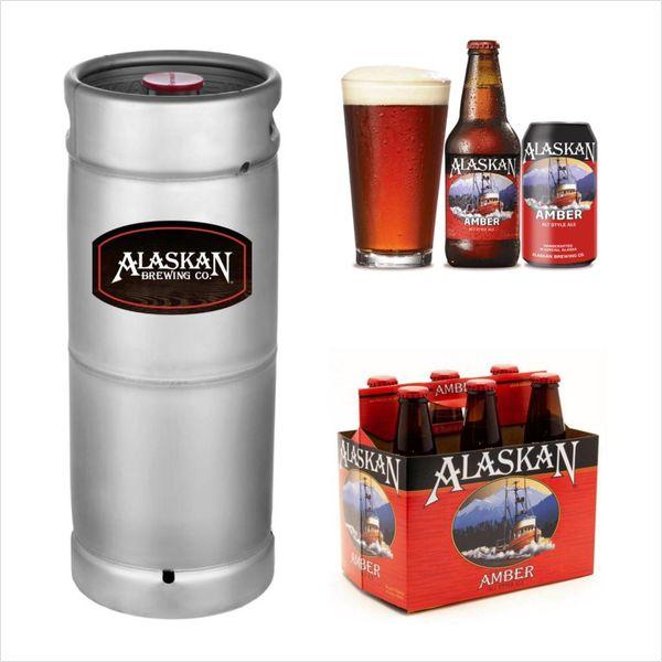 Alaskan Brewing Alaskan Amber (5.5 GAL KEG)