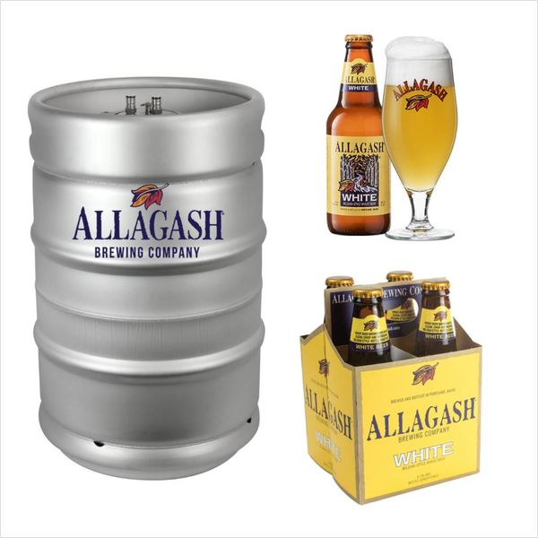 Allagash Allagash White Ale (15.5gal Keg)