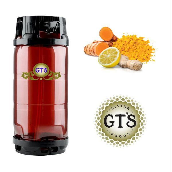 GTS Gt's Cannabliss (Seasonal) Pineapple, Ginger, Turmeric, Lemon, high-quality Cannabidiol (5.5gal Keg)