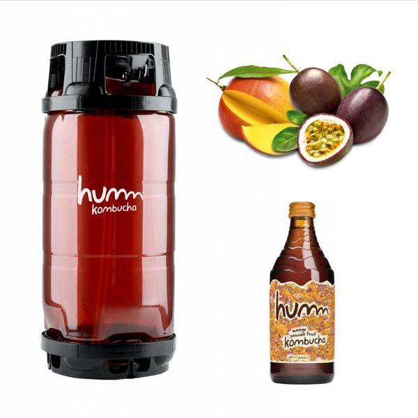 Humm Humm Kombucha Mango Passion Fruit (5.5 GAL KEG)