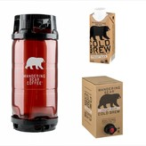Wandering Bear Straight Black Cold Brew Coffee (5.5 GAL KEG)