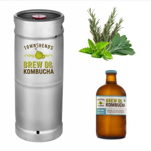 Brew Dr. Kombucha Brew Dr. Kombucha Clear Mind (5.5 GAL KEG)