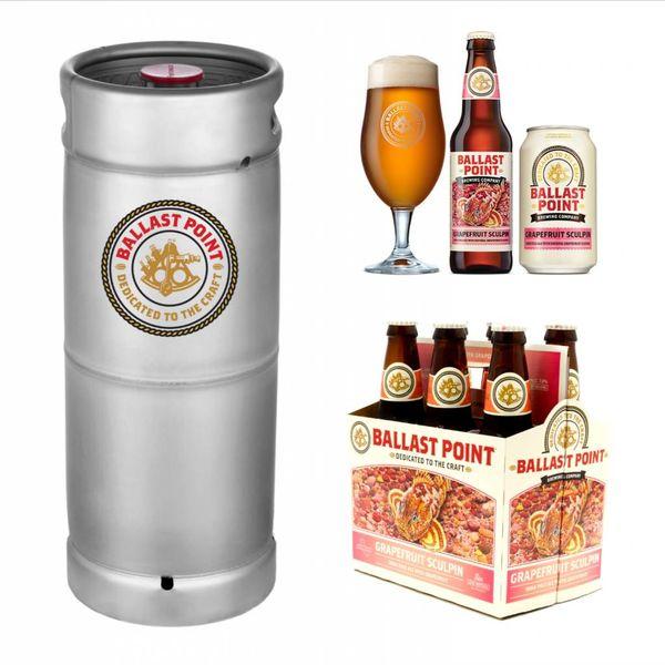 Ballast Point Brewing Company Ballast Point Grapefruit Sculpin (5.5gal Keg)