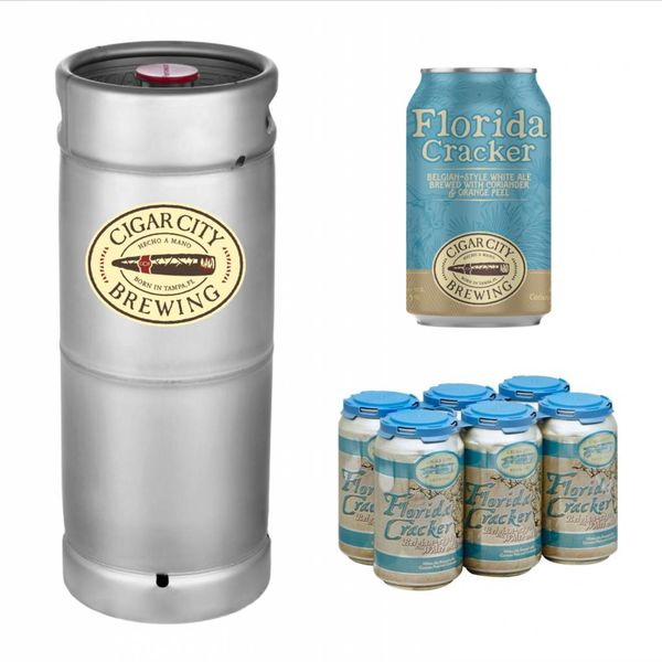Cigar City Florida Cracker Belgian-Style White Ale (5.5gal Keg)