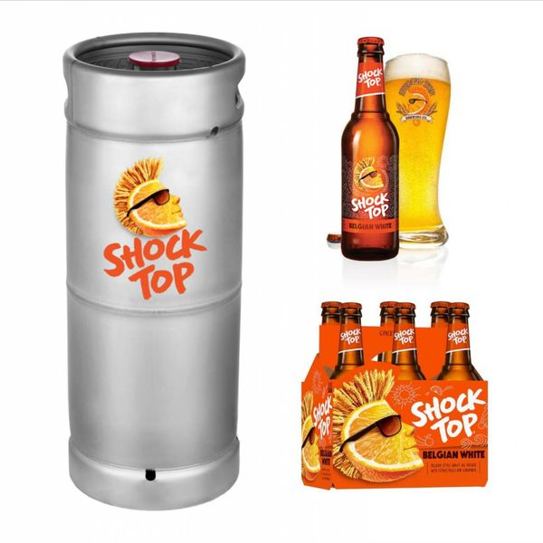 Shock Top Shock Top Belgian White (5.5 GAL KEG)