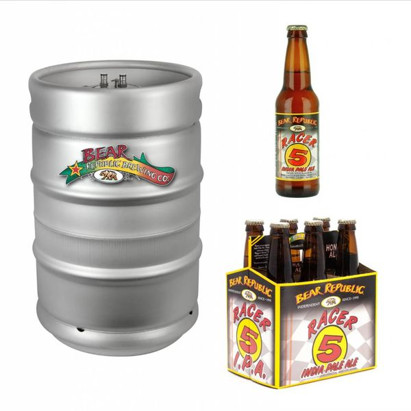 Bear Republic Bear Republic Racer 5 IPA (15.5gal Keg)