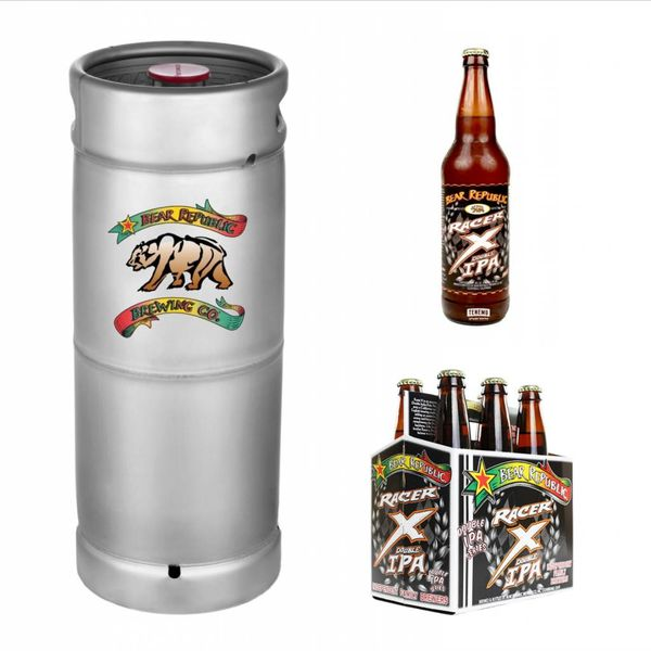 Bear Republic Bear Republic Racer X Double IPA (5.5 GAL KEG)