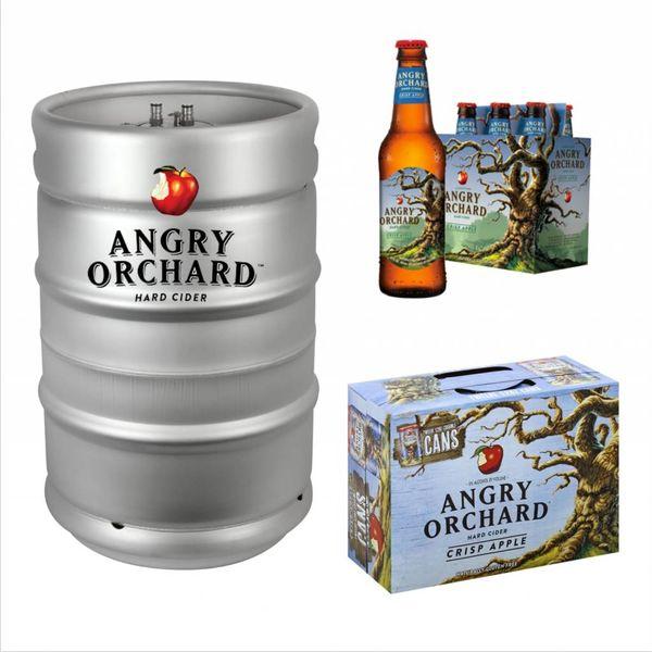 Angry Orchard Angry Orchard Crisp Apple (15.5 GAL KEG)
