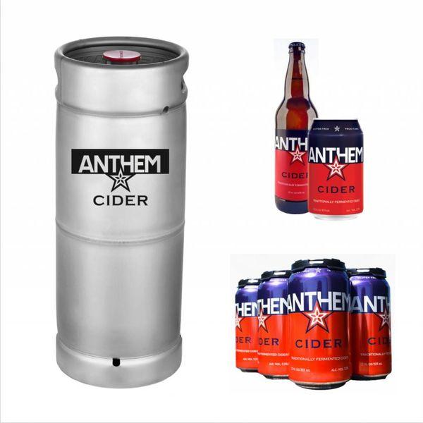 Anthem Anthem Apple Cider (5.5 GAL KEG)