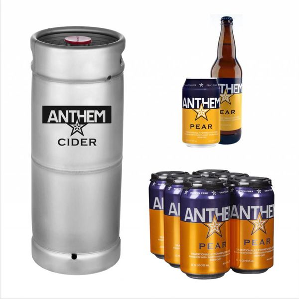 Anthem Anthem Pear Cider (5.5gal Keg)