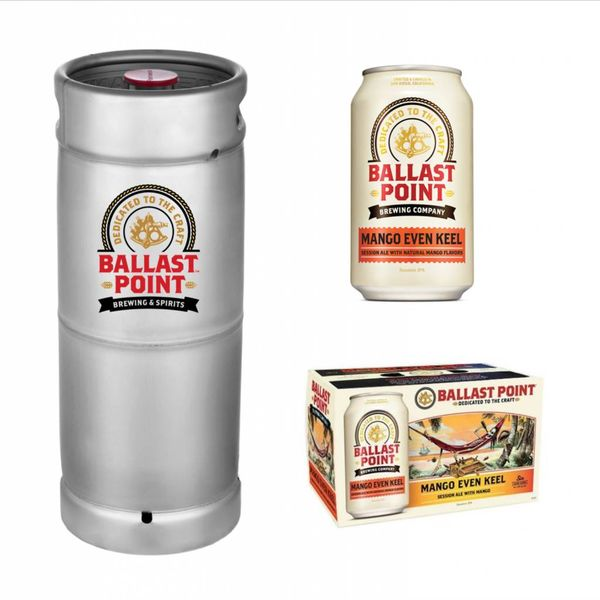 Ballast Point Brewing Company Ballast Point Mango Even Keel Session IPA (5.5gal Keg)