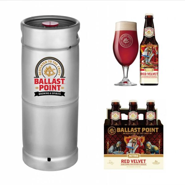 Ballast Point Brewing Company Ballast Point Red Velvet Nitro (5.5gal Keg)
