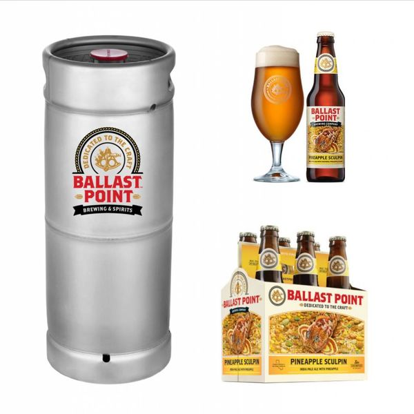 Ballast Point Brewing Company Ballast Point Pineapple Sculpin (5.5gal Keg)