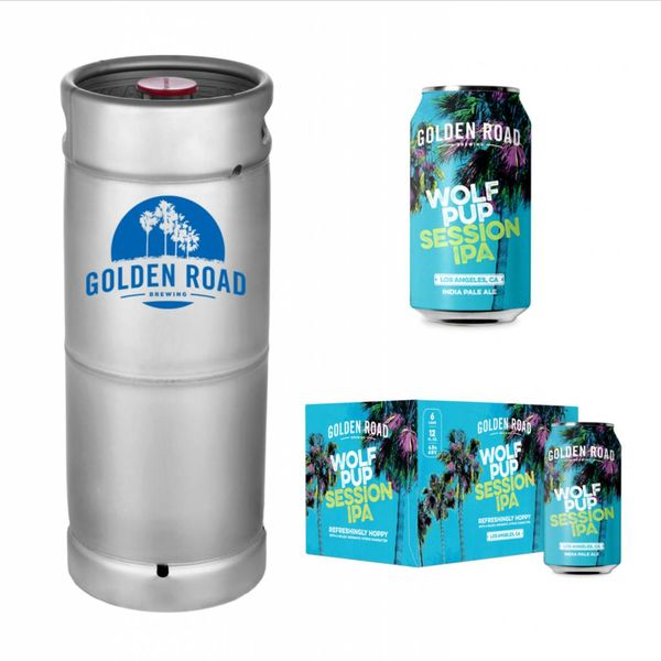 Golden Road Golden Road Wolf Pup Session IPA (5.5 GAL KEG)