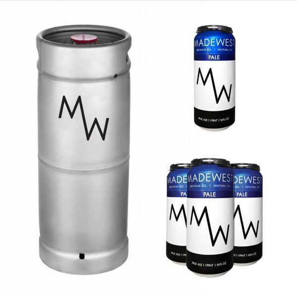 Madewest Madewest Pale Ale (5.5 GAL KEG)