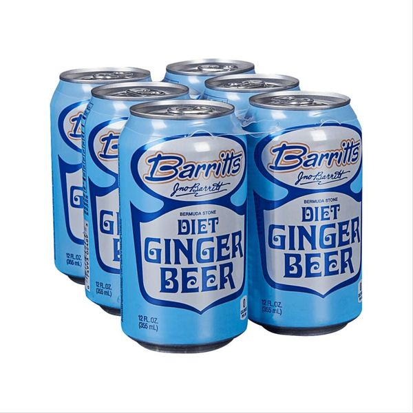 Barrits Diet Ginger Beer (12OZ/6PK CAN)