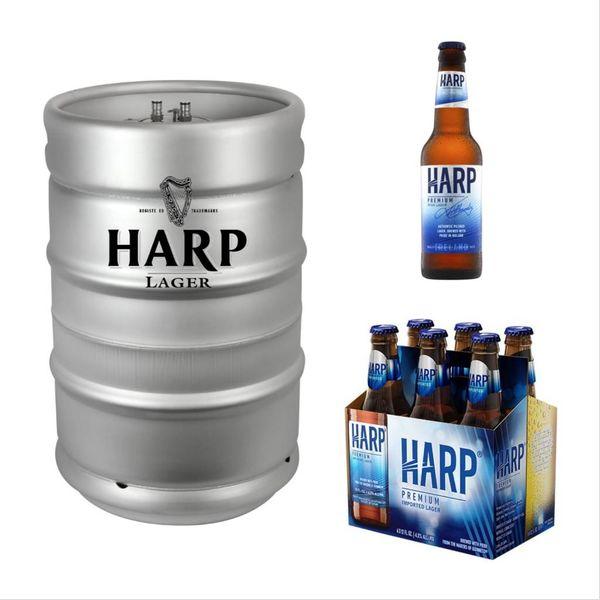 Harp Premium Imported Lager (13.2 GAL KEG)