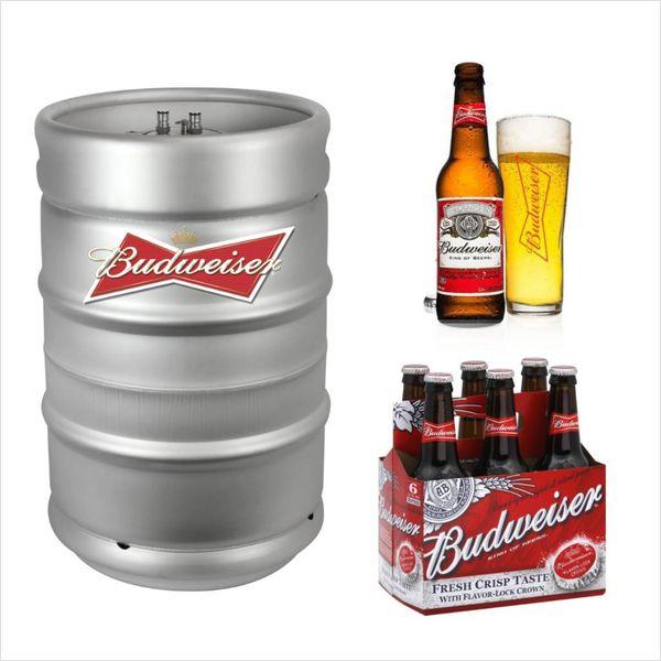 Anheuser-Busch Budweiser (15.5gal Keg)