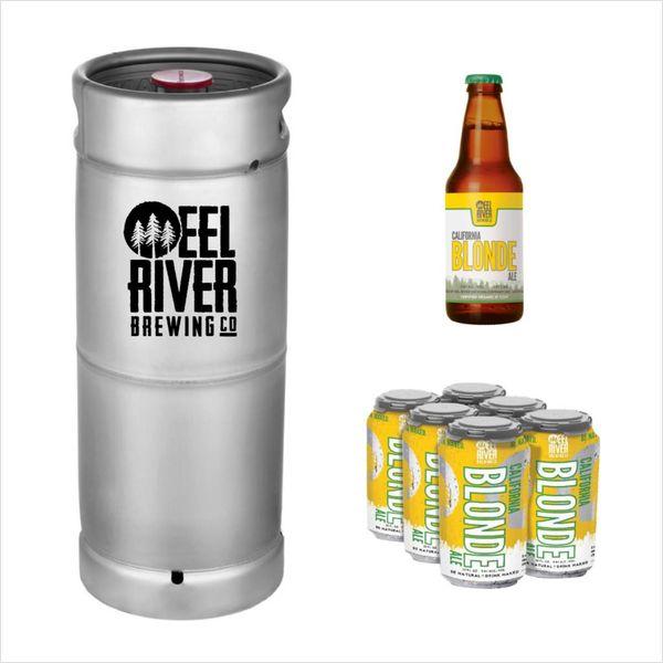 Eel River Brewing Eel River California Blonde Ale (5.5 GAL KEG)