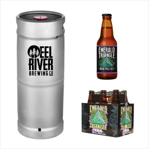 Eel River Brewing Eel River Emerald Triangle IPA (5.5 GAL KEG)