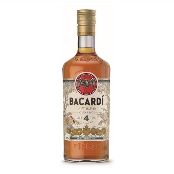 Bacardi Bacardi Anejo Cuatro Aged 4 Years (750ml)