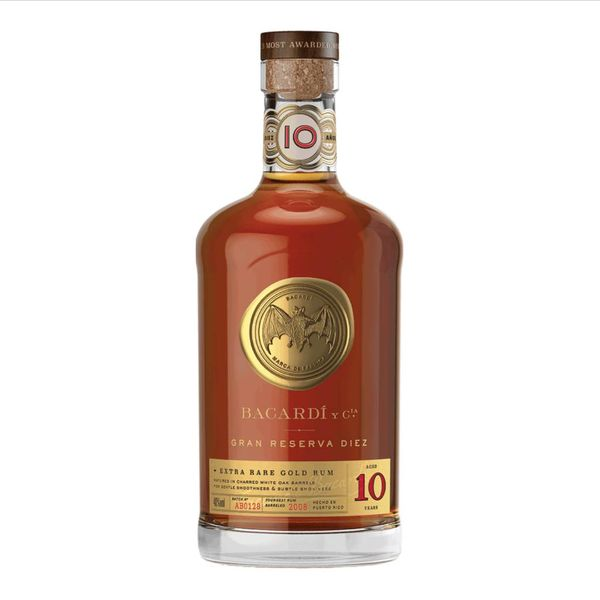 Bacardi Bacardi Grand Reserva Diez Aged 10 Years (750ML)