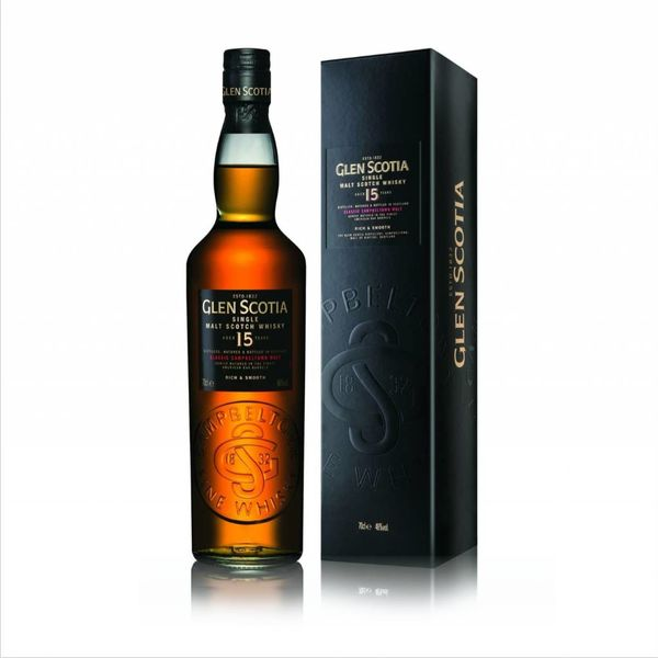 Glen Scotia Glen Scotia 15 Year Single Malt Scotch Whiskey (750ML)