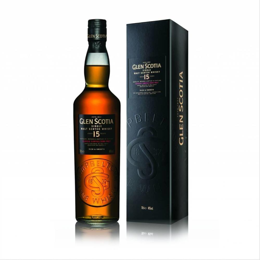 fe6e6f974ea7 Glen Scotia 15 Year Single Malt Scotch Whiskey (750ML)