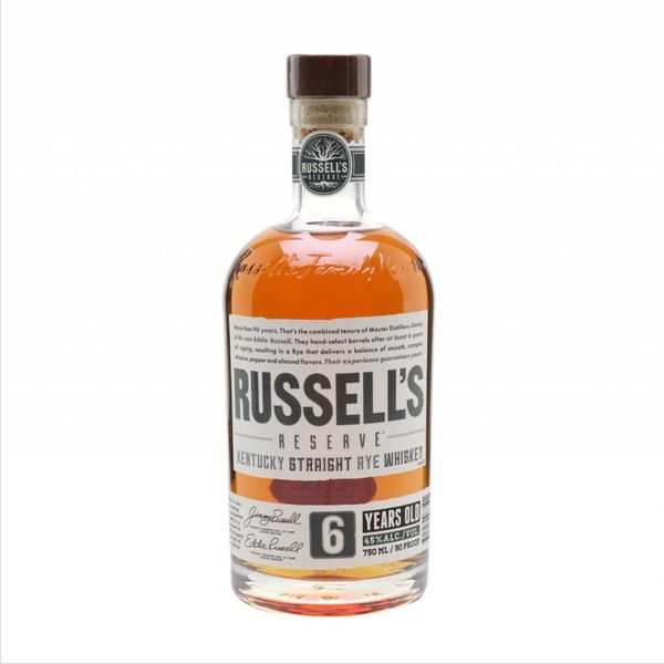 Russel's Reserve Russell's Reserve Rye Whiskey 6 Year (750ML)