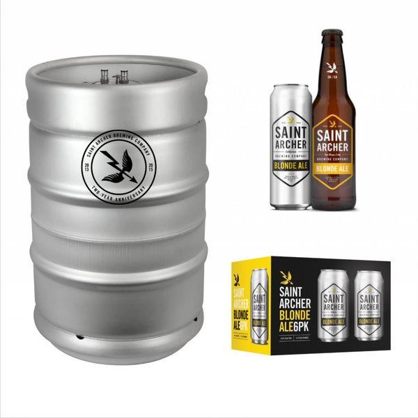 Saint Archer Saint Archer Blonde Ale (15.5 GAL KEG)