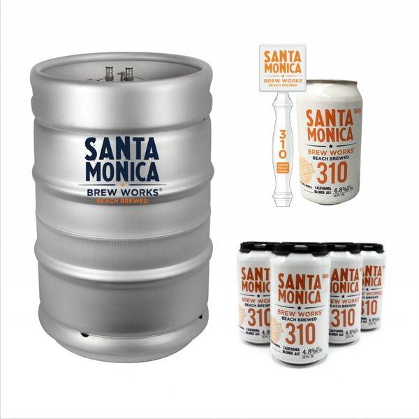 Santa Monica Brew Santa Monica 310 California Blonde Ale (15.5 GAL KEG)