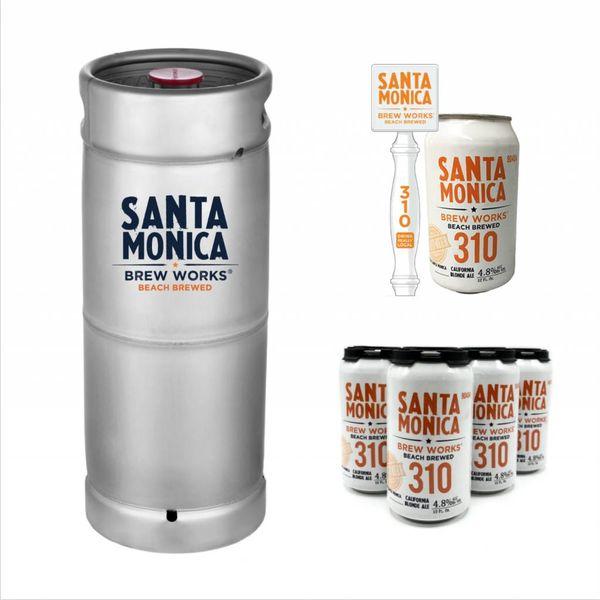 Santa Monica Brew Santa Monica 310 California Blonde Ale (5.5 GAL KEG)