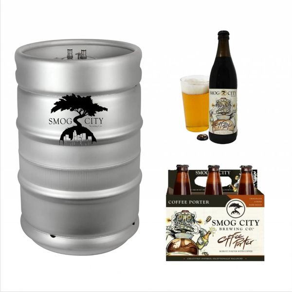 Smog City Smog City Coffee Porter (15.5 GAL KEG)