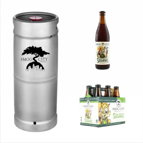 Smog City Smog City Sabre Toothed Squirrel (5.5 GAL KEG)