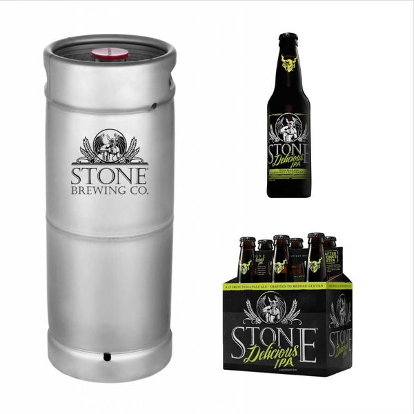Stone Brewing Co. Stone Delicious IPA (5.5 GAL KEG)