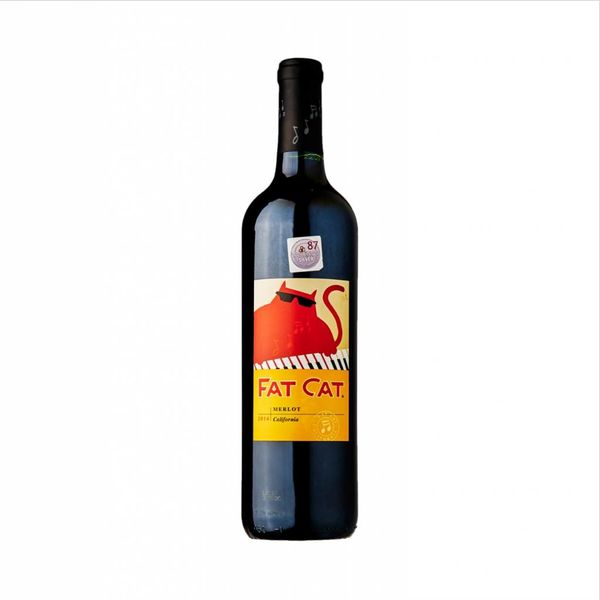 Fat Cat Merlot 2014 (750ML)