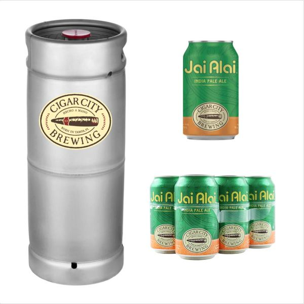 Cigar City Jai Alai IPA (5.5 GAL KEG)