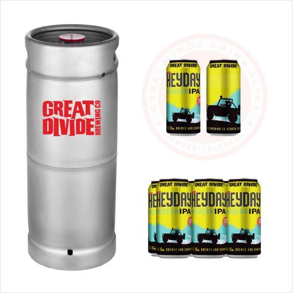Great Divide Great Divide Heyday Modern IPA (5.5 GAL KEG)