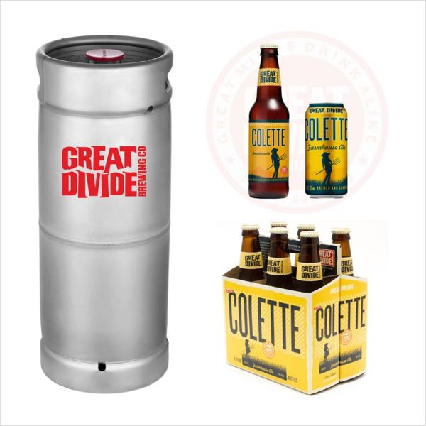 Great Divide Great Divide Colette Farmhouse Saison (5.5 GAL KEG)