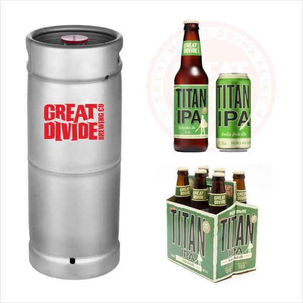 Great Divide Great Divide Titan IPA (5.5 GAL KEG)