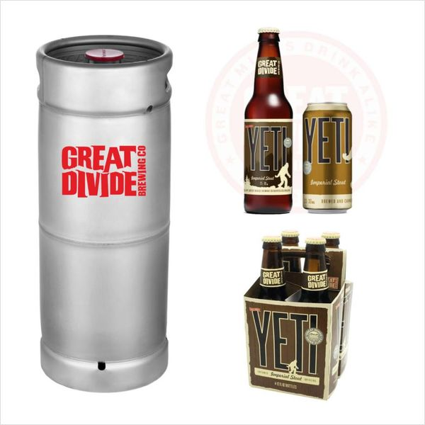 Great Divide Great Divide Yeti Imperial Stout (5.5 GAL KEG)