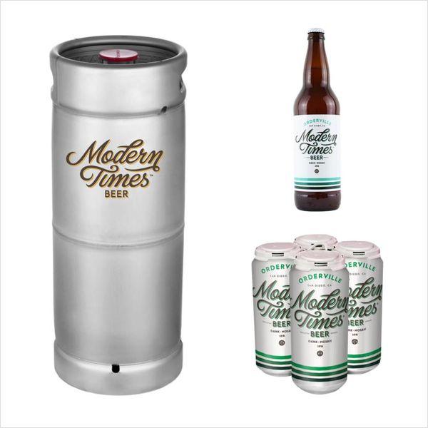 Modern Times Modern Times Beer Orderville Hazy Mosaic IPA (5.5 GAL KEG)