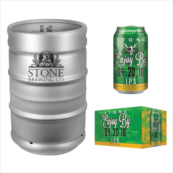 Stone Brewing Co. Stone Enjoy by 04.20.18 IPA (15.5 GAL KEG)
