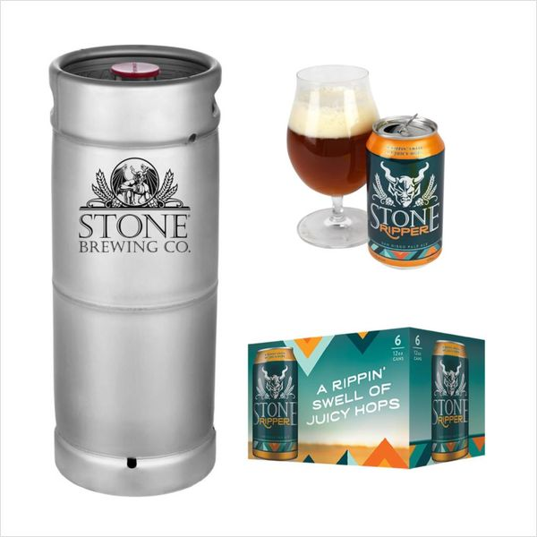 Stone Brewing Co. Stone Ripper Pale Ale (5.5 GAL KEG)