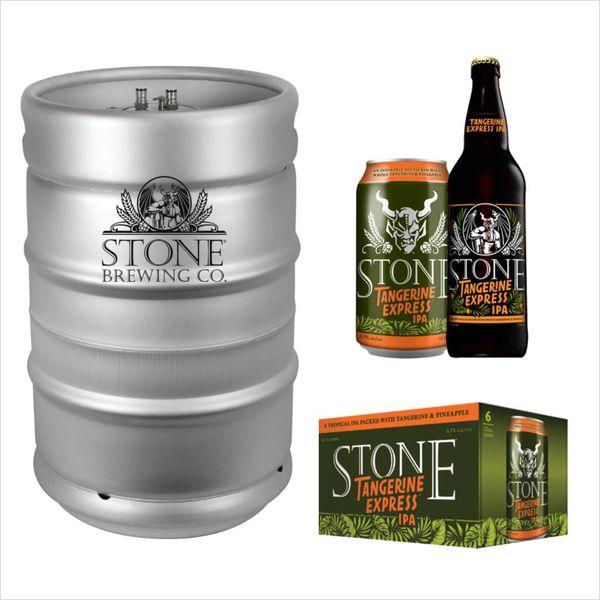 Stone Brewing Co. Stone Tangerine Express Hazy IPA  (15.5gal Keg)