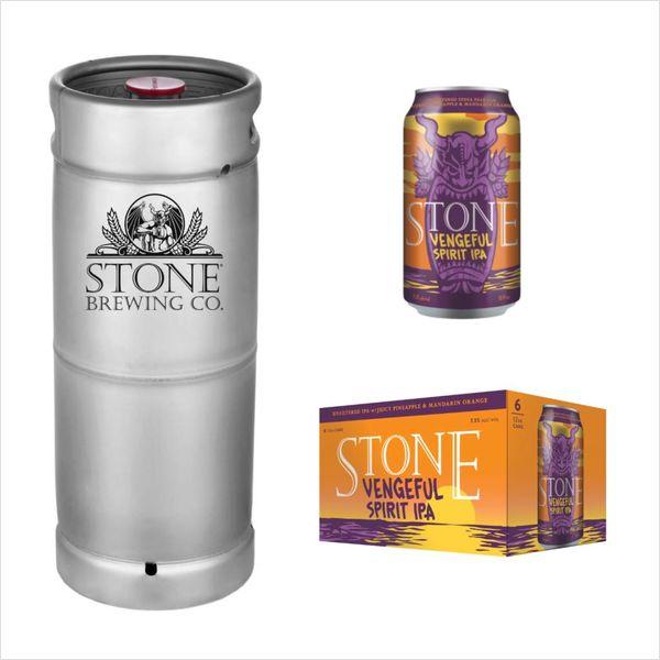 Stone Brewing Co. Stone Vengeful Spirit IPA (5.5 GAL KEG)