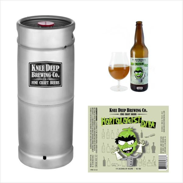 Knee Deep Knee Deep Brewing Co. Hoptologist Double IPA (5.5 GAL KEG)