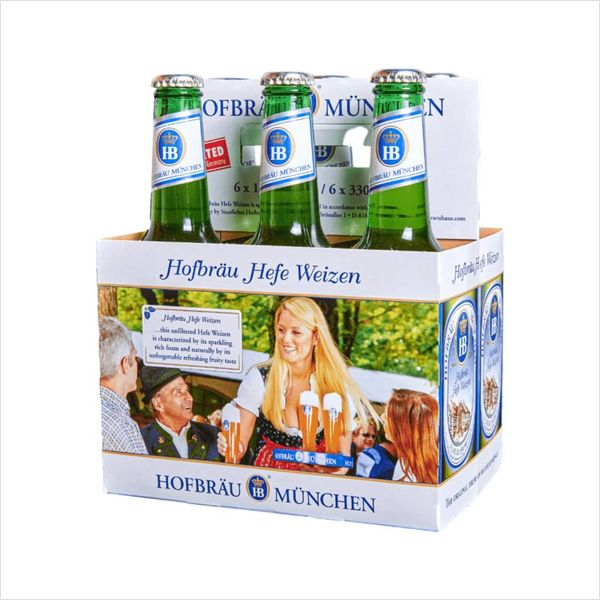 Hofbrau Munchen Hofbrau Munchen Hefe-Weizen (6pkb/11.2oz)